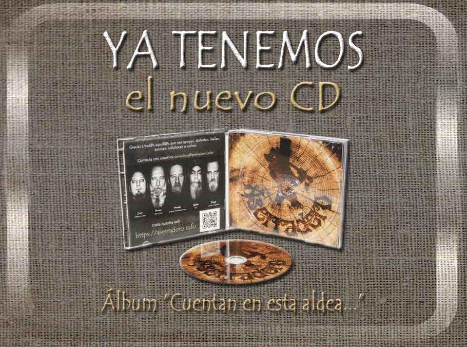 Ya tenemos álbum en formato físico CD